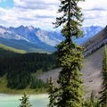 A closer look at Tower Lake with the trail to the forest on the left.- Amazing Alpine Lakes