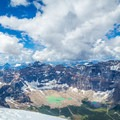 Paradise Valley and an unnamed lake from the top of Mount Temple.- The Best of Banff, Canada