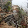 Hold your breath while crossing the iron grate floor early in the climb!- The Beehive Loop Trail