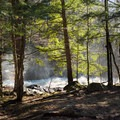 Views from the primitive campsite by Harper Falls.- 10 Must-See Waterfalls in New York