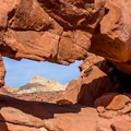 Be on the lookout for the many arches that give this trail its name: Natural Arches.- 20 Must-Do Nevada Adventures