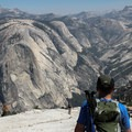 Sentinel is arguably the most prominent when viewed from atop Half Dome.- Half Dome via Mist Trail