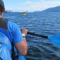 Leaving Sucia Island for Matia Island.- San Juan Islands