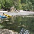 Clear waters at Matia Island.- Kayaking in the San Juan Islands