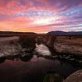 Sunrise at Bog Hot Springs.- Hot Springing Across Nevada