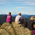 Vista from Grouse Mountain after climbing the Grouse Grind.- Best Day Hikes near Vancouver, B.C.