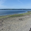 The north beach at Camano Island State Park.- Best Year-round Campgrounds in Washington