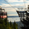 Hikers have the option of paying $10 for a ride down Grouse Mountain.- Best Day Hikes near Vancouver, B.C.