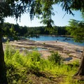Agers Falls: The bedrock beach.- 12 New York Lakes Perfect for Summer Adventure