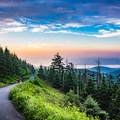 Early morning is a wonderful time to explore Clingmans, with less crowds and more beauty than you'll find in mid-day. - Take the High Road in 2019: Geotab Maps America's Highest Roads