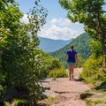 The first views near the summit of North Point.- The 8 Best Hikes in New York's Catskills