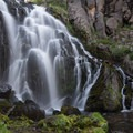Kings Creek Falls in Lassen Volcanic National Park.- Underrated U.S. National Parks You Must See