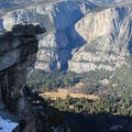 Looking down into Yosemite Valley from Glacier Point.- 3-Day Itinerary for Yosemite National Park