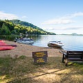 Little Sand Point: The boat launch area.- 10 Amazing Camping Spots in the Adirondacks