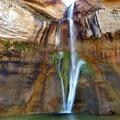 Lower Calf Creek Falls along Highway 12.- Must-do Scenic Drives in Utah
