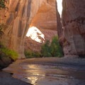 Jacob Hamlin Arch, also known as Lobo Arch, in Coyote Gulch.- Utah's 5 Essential Outdoor Towns