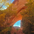 Jacob Hamlin Arch (Lobo Arch) at Coyote Gulch.- Hole in the Rock Road