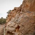 Petroglyphs inside the Hickison Petroglyph Recreational Area.- Adventuring across Nevada's Highway 50
