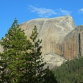 Yosemite's iconic Half Dome (8,836 ft) as seen from the John Muir Trail.- 30 Must-Do Adventures in California