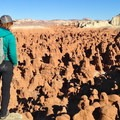 Goblin Valley is what can happen at the shorelines of ancient seas over time with the right conditions.- History in Stone: Basic Geology of the Colorado Plateau