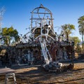 The home and monument of Chief Rolling Thunder Mountain.- Delight in the Diversity of Deserts