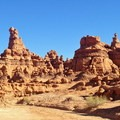 Heaps of goblins in Goblin Valley State Park. - An Ode to Dr. Seuss