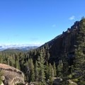 The view north from the approach to Rock Lake.- 5 Reasons to visit Lakes Basin