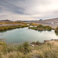 Tecopa Mud Baths.-  Hot Springs, Geysers, and Other Geothermal Activity