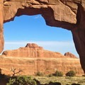 Pine Tree Arch.- Canyonland Country: Best Hikes Near Moab