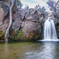 First Creek swimming hole and waterfall.- 11 Best Day Hikes Near Las Vegas