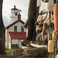 Battery Point Lighthouse in Crescent City.- Redwood National + State Parks