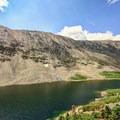 Upper Blue Lake.- Blue Lakes Trail