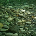 Pristine water flows from the mountains into Cherry Flat.- 14 Incredible Swimming Holes in Northern California