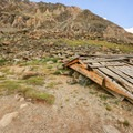 The second old mine building.- Blue Lakes Trail