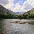 Lower Blue Lake.- Blue Lakes Trail