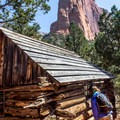 Two historic cabins make interesting stops along the Taylor Creek Trail.- Zion National Park