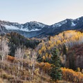 View just after sunset along the Dallas Divide Scenic Route.- A 3-Day Adventure Itinerary in Telluride, Colorado