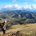 Taking in the view toward Morgan Territory Regional Preserve from Mount Diablo.- Best Hikes in the Bay Area