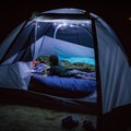 Tent time in Cades Cove. - Guide To Camping In Great Smoky Mountain National Park