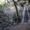 Approaching Escondido Falls.- 10 Best Waterfall Hikes Near Los Angeles