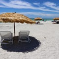 The perfect way to spend a sunny day at Fort De Soto Beach.- 10 Fantastic Beach Towns in Florida