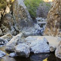 Big Sur River Gorge.- The Best of Big Sur: Hiking, Camping, Beaches, and Waterfalls