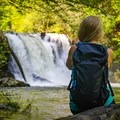 Abrams Falls is a popular hike in Great Smoky Mountains National Park.- 7 Must-See Tennessee Waterfalls