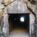 Tunnel to east cove, Partington Cove.- The Best of Big Sur: Hiking, Camping, Beaches, and Waterfalls