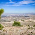 City skyline from the Las Vegas Overlook point.- 11 Best Day Hikes Near Las Vegas