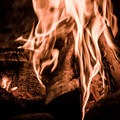 Enjoying the hypnotic bliss that a campfire can offer.- How to Be Campfire Conscious This Season