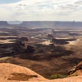 Spectacular views from Willow Flat Campground.- Exploring Canyonlands National Park