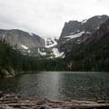 Lake Odessa.- Rocky Mountain National Park