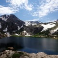 Bluebird Lake.- Rocky Mountain National Park