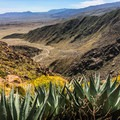 Incredible views from the summit of Indianhead Peak.- Anza-Borrego Desert State Park